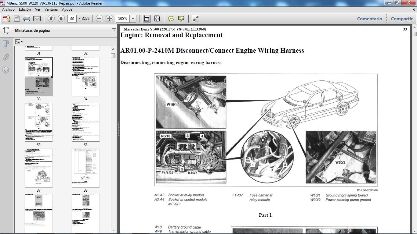 Manuales De Taller Mercedes Benz F1 Wiring Harness Comprar Ahora Online Con Entrega Inmediata