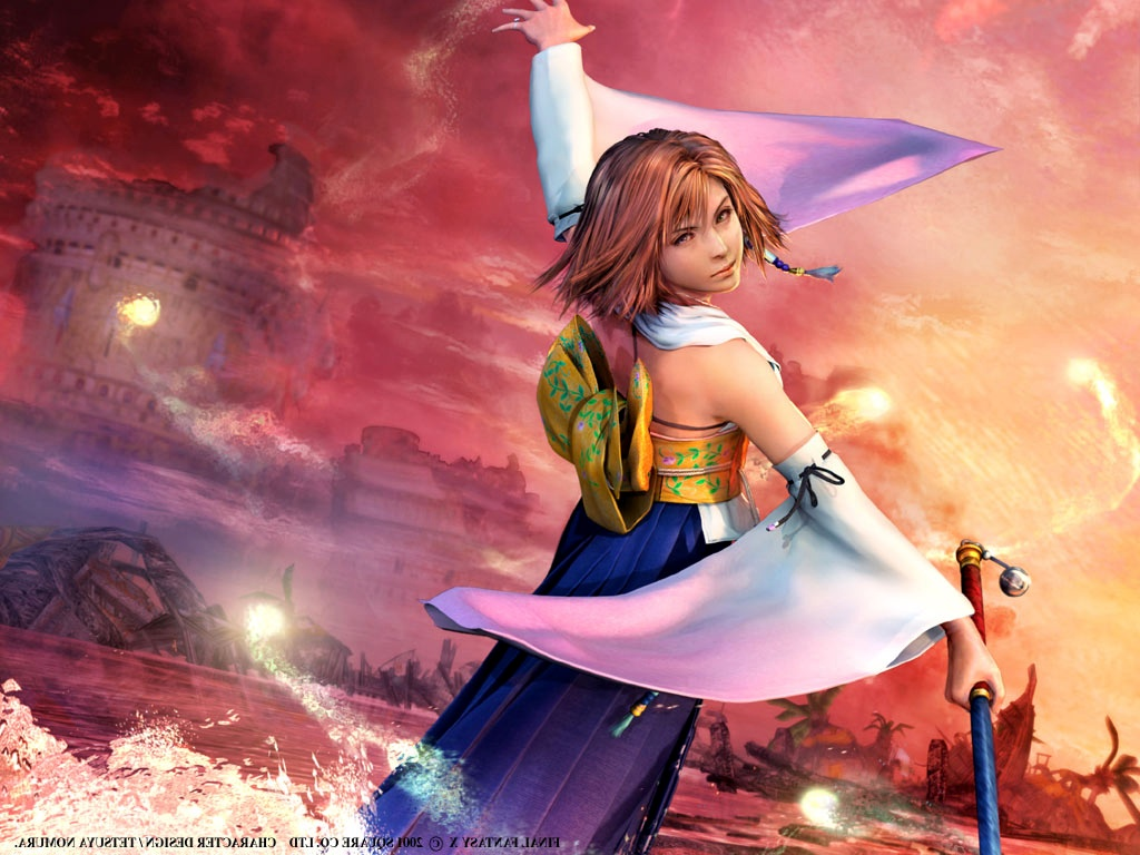 Free PSP Themes Wallpaper: Final Fantasy Wallpaper