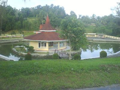 pariwisata lingga |Pagoda Peniggalan PT.Timah