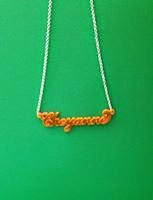 Name Necklace in Acrylic