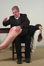 Naughty schoolgirl Tara punished for running in the halls - Punished Brats