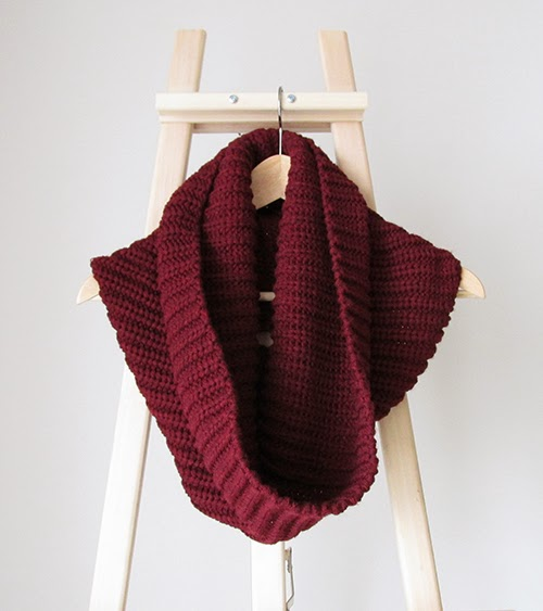 burgundy+snood, h&m+scarf