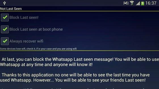 Cara Menyembunyikan Fitur 'Last Seen' Whatsapp Android & iPhone