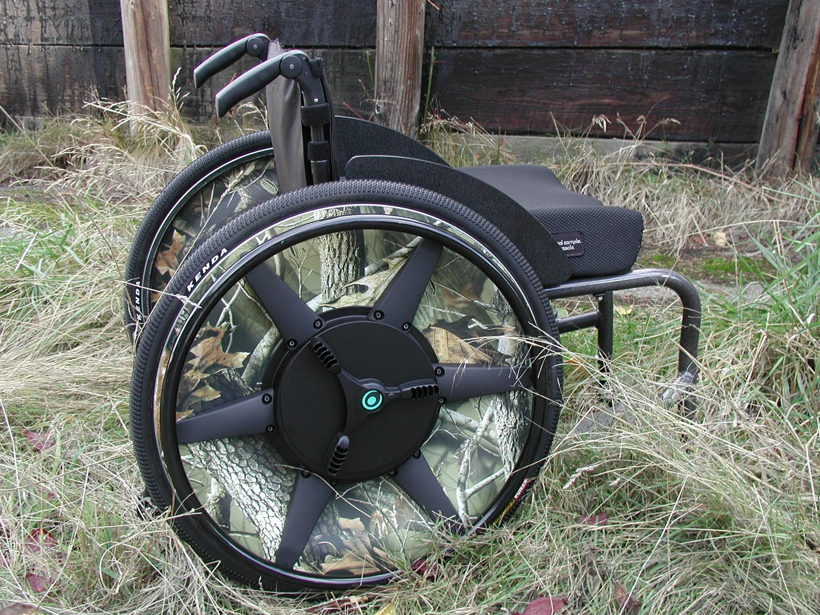 Pimped Out 2 Gear Wheelchair Wheels