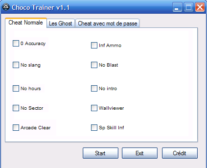 Choco Trainer Ultimate v1.1
