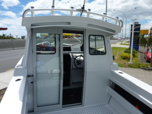Amf boats alloy boat builders amf 660 hardtop cabin for Boat cabin entry doors