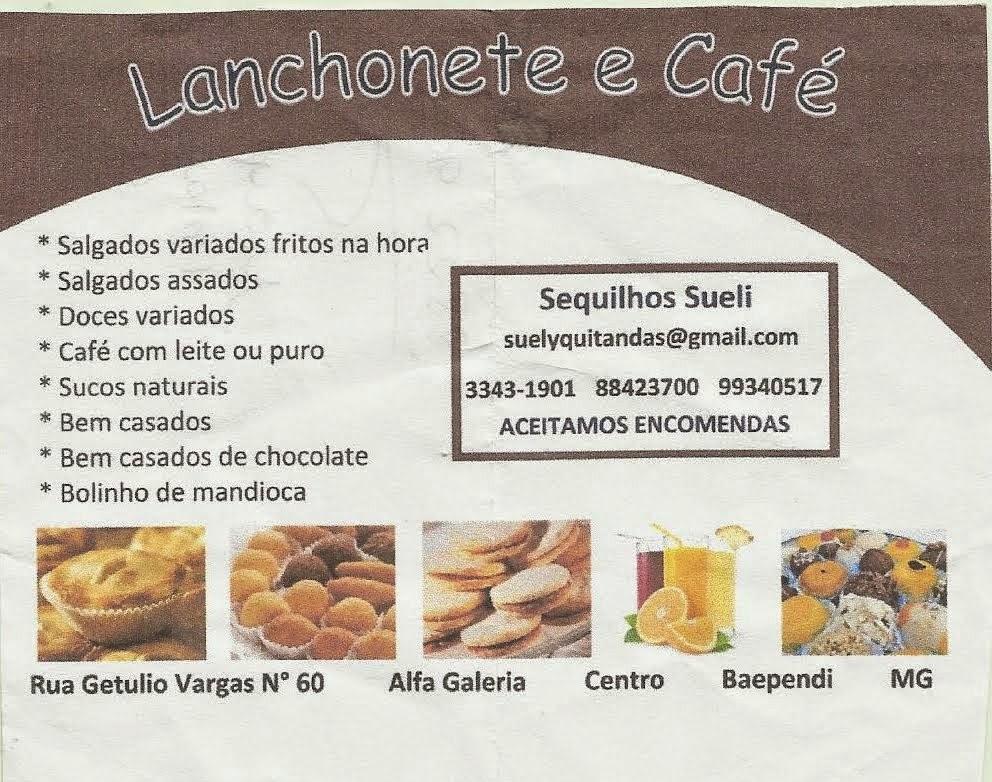 AVENIDA CAFÉ EM CAXAMBU...
