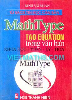 sach Huong dan cach su dung phan mem mathtype