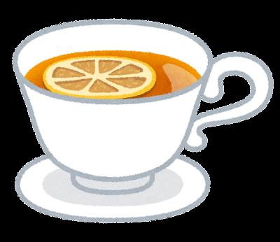 レモンティーのイラスト(紅茶)