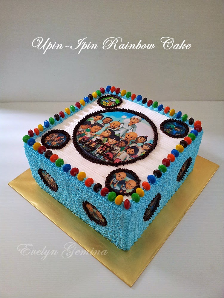 Fresh Cream Cake Upin Ipin / 3kg
