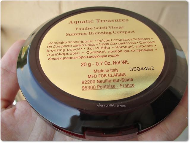 CLARINS - Aquatic Treasures - Poudre Soleil Visage