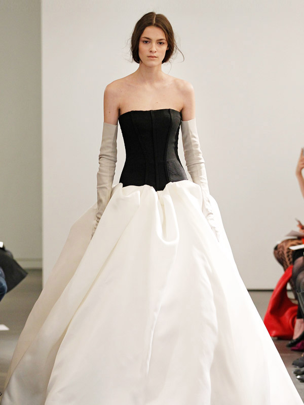 Black/White-Vera Wang 2014 Wedding Dresses Collection | Designer ...