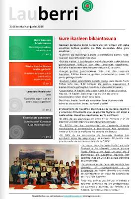 lauberri #lauaxeta #ikastola #educación #noticias