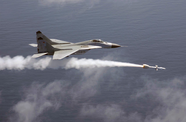 German Mig-29 launch missile