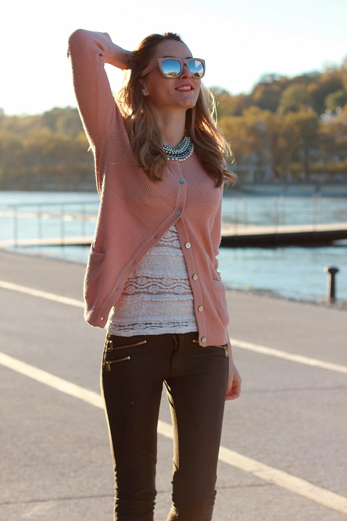 girly cardigan