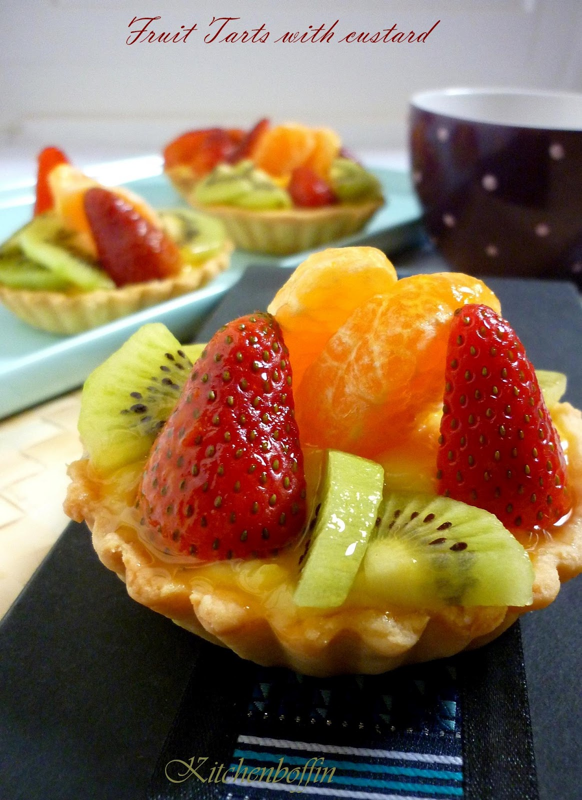easy healthy fruit tart recipe fruit skewers
