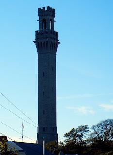 Pilgrim monument in Provincetown, MA