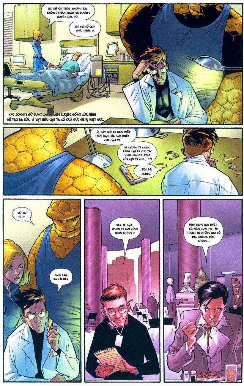 Ultimate Fantastic Four chap 9 - Trang 22