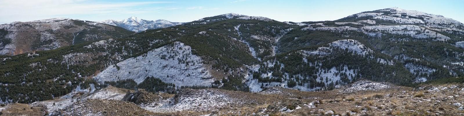 Sierra de los Filabres. Almería.