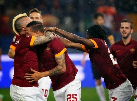 Liga Italia : AS Roma 3-2 Inter