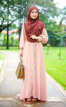Dress Chiffon Full Lining Sangat Menawan Dan Exclusive