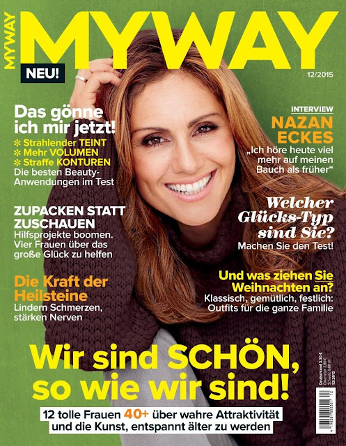 Television Personality, Actress @ Nazan Eckes - Myway Germany, December 2015