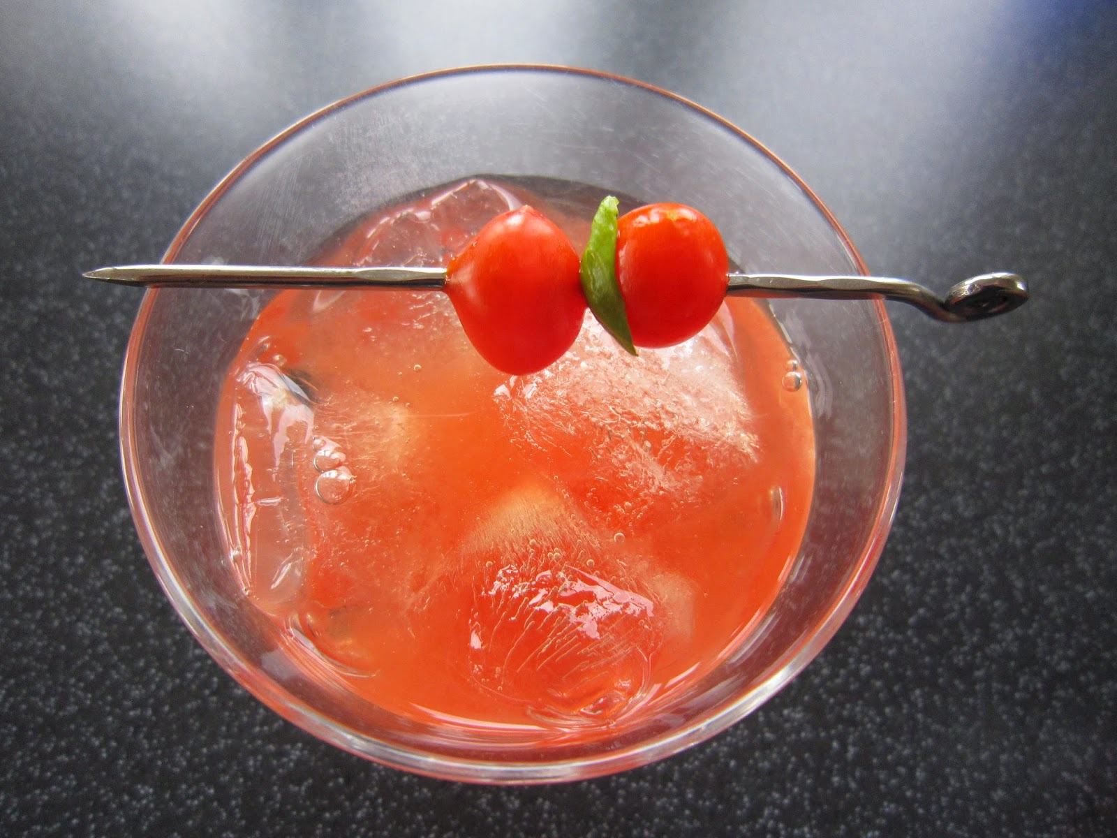 Tomato Basil Cocktail Recipe