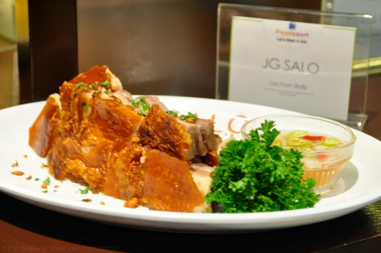 Lechon Belly from JG Salo SM Fairview Foodcourt
