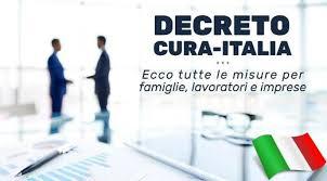 DL CURA ITALIA, GLI AIUTI ECONOMICI