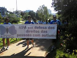 3ª Caminhada para conscientização do Autismo em Sorocaba.