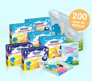 Prueba los Nestlé Packs de Leche y cerales