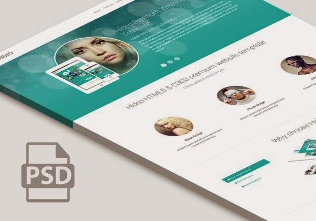 plantillas PSD para Website