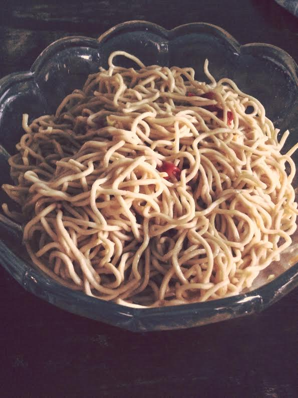 simple sesame noodles by stefania