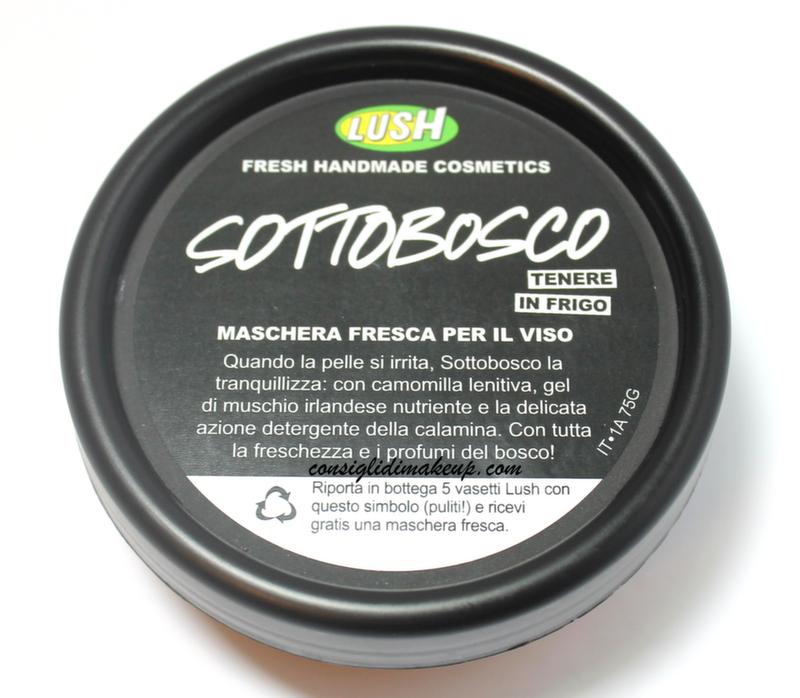 Review: Maschera Fresca Sottobosco - Lush