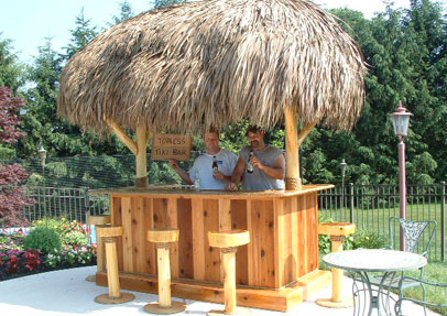 How to build a tiki bar for Build your own patio bar