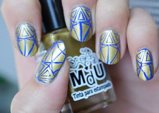 [Nagellack] Color Club - Bright Night und Mundo de Unas Stamping