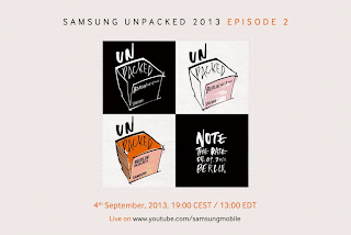 Galaxy Note III will be released on September 4
