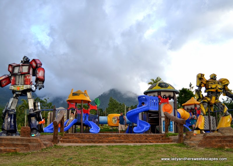 Transformers at Campuestohan Highland Resort