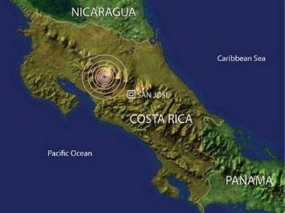 Se declara alerta verde en Costa Rica por serie de Sismos Sismo.htm