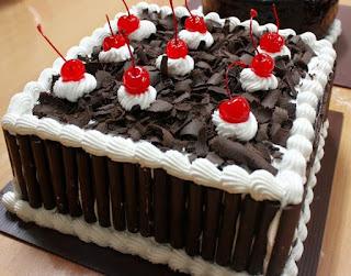 Cara Membuat Kue Black Fores Sederhana