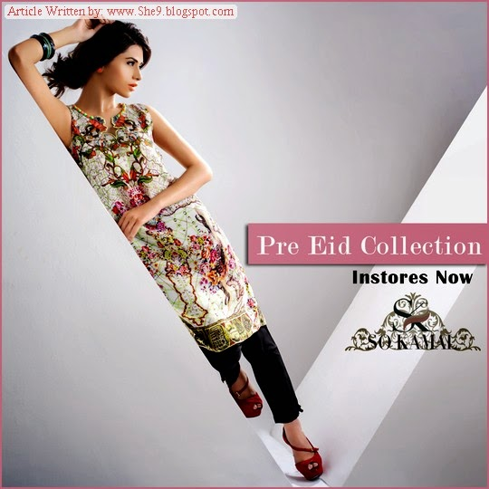 So Kamal Pre Eid Collection 2014