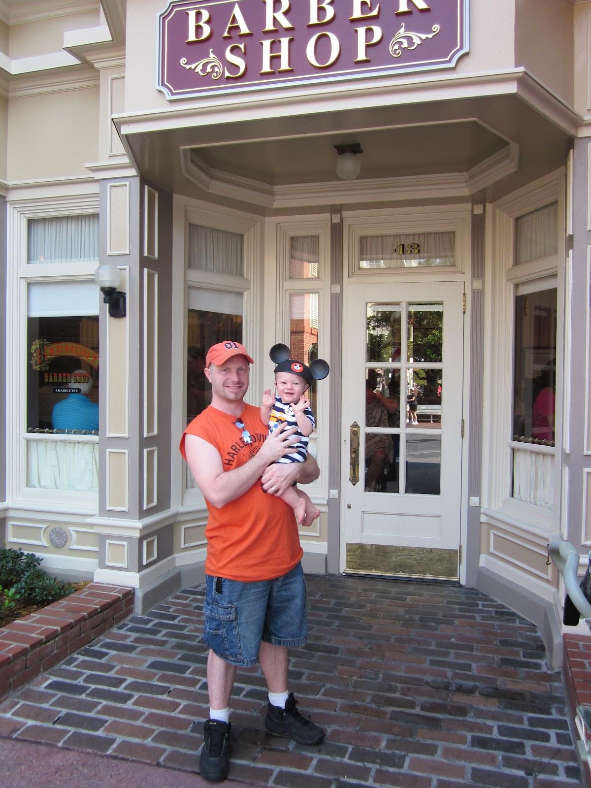 Babys First Haircut At The Magic Kingdom Walt Disney World Tips