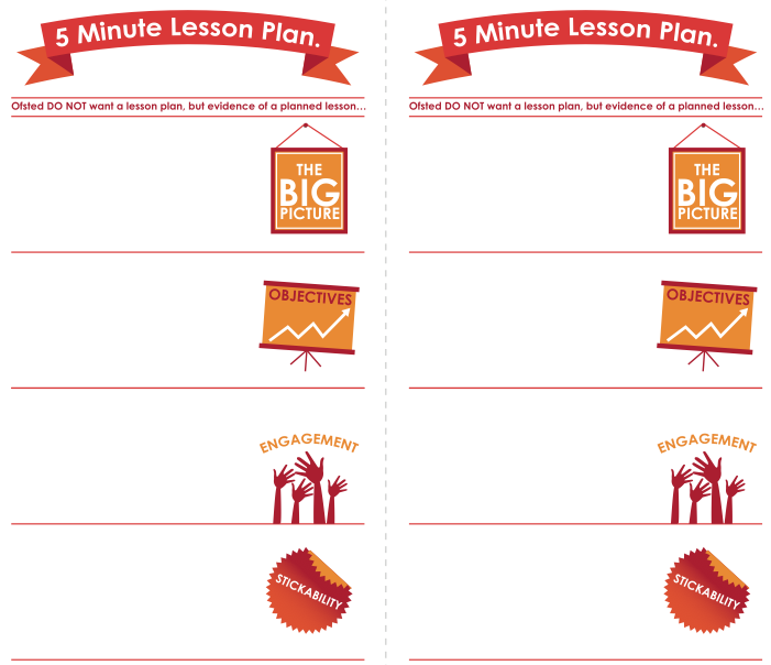 An Excited Educator : Five Minute Lesson Plan