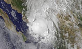 Hurrikan MANUEL bei Mexiko, 2013, Acapulco, aktuell, Manuel, Mexiko, Pazifische Hurrikansaison 2013, Satellitenbild Satellitenbilder, September, Vorhersage Forecast Prognose