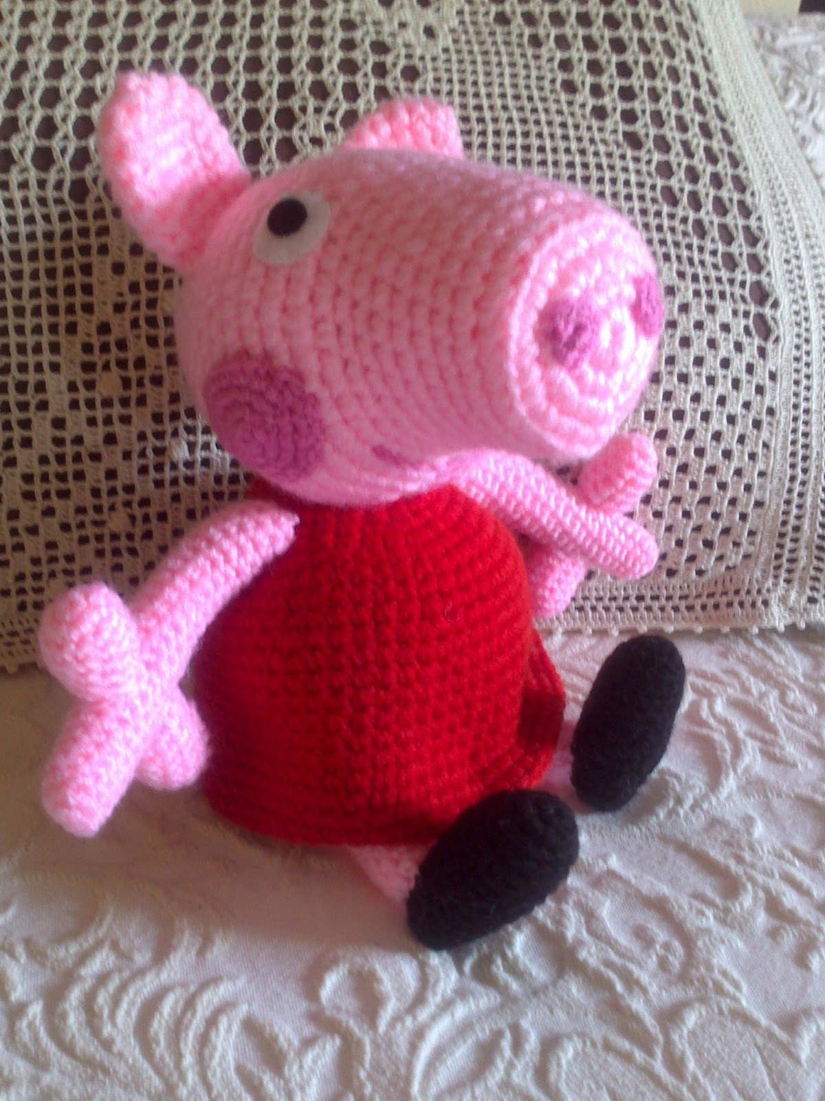 Amigurumi Tutorial Peppa Pig : Tallerdema� peppa pig