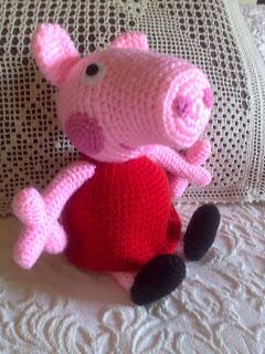 Peppa Pig Amigurumi Taller De Mao : tallerdemao: PEPPA PIG