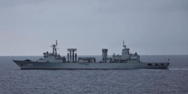 PLA Navy Type 903A replenishment ship