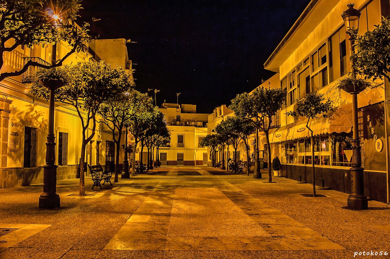 Plaza Barroso en Rota