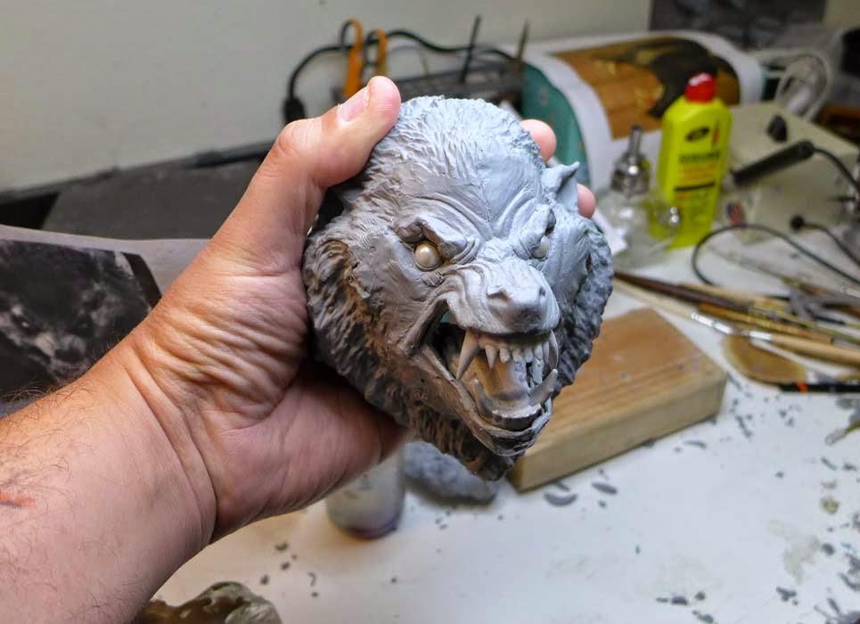 An American Werewolf in London statua da Pop Culture Shock