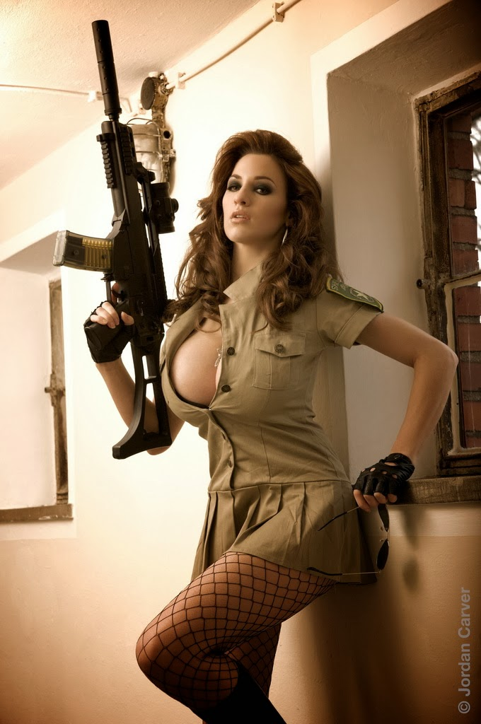 Naked girls with guns Nude Photos 54